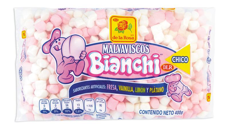 Bianchi chico blanco y rosa
