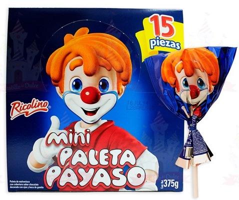 Paleta Payaso Mini
